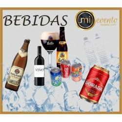 BANDERAS DE TELA CON MÁSTIL MOD -GOTA